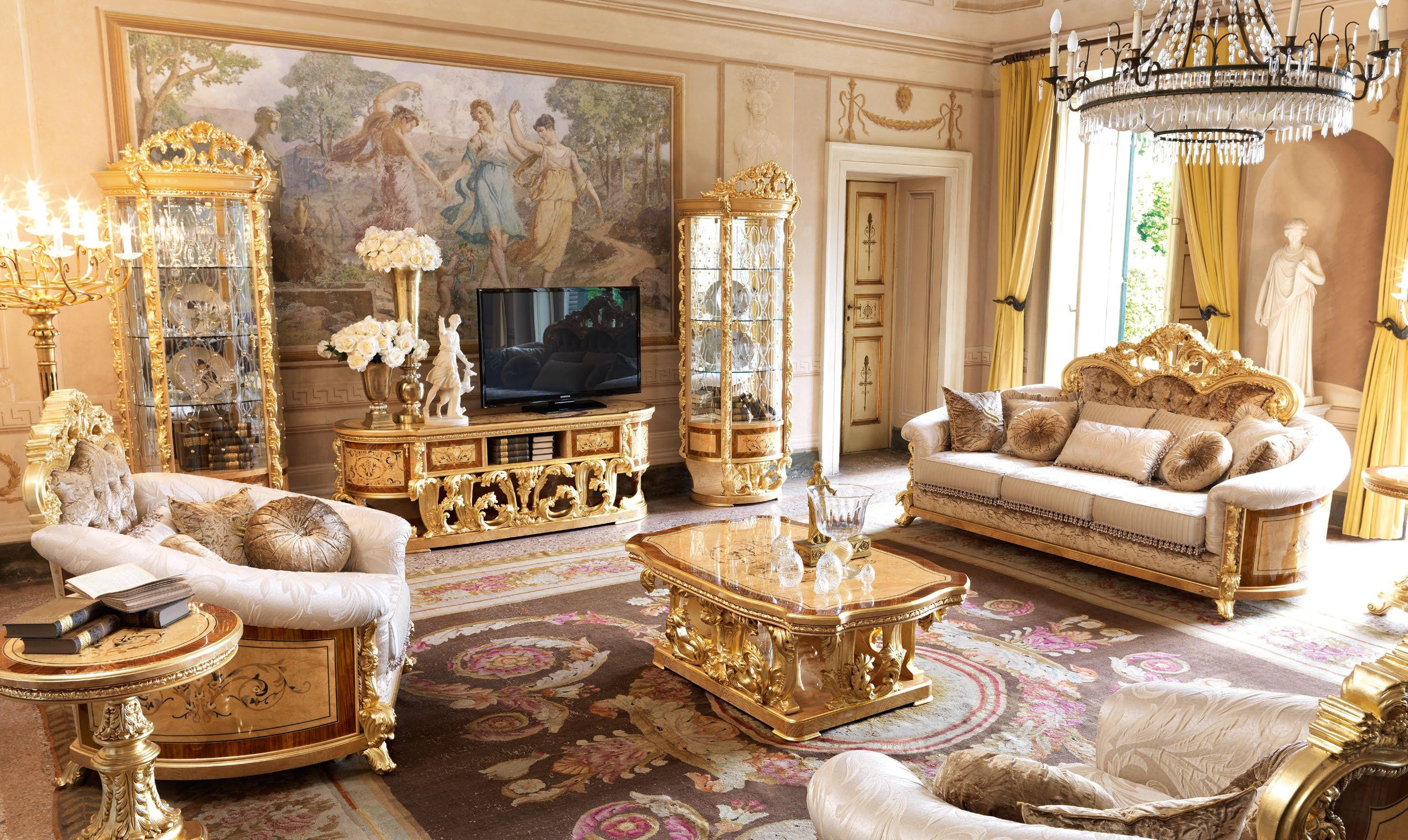 empire style tv family room cabinet