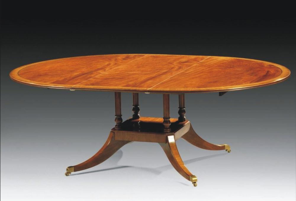 Round dining table high end dining rooms furniture for High end dining table