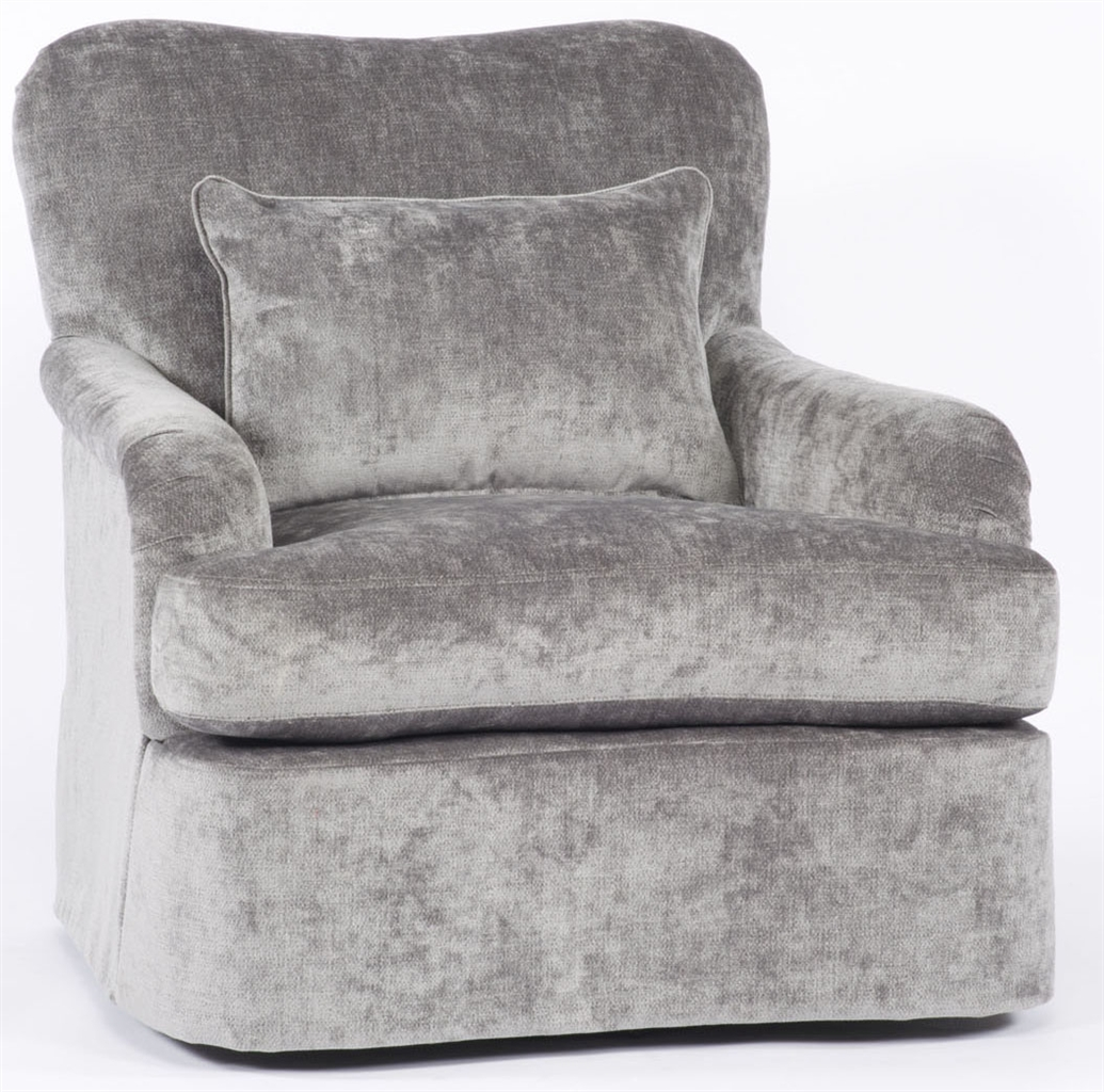 Grey comfy swivel chair for Grey comfy chair