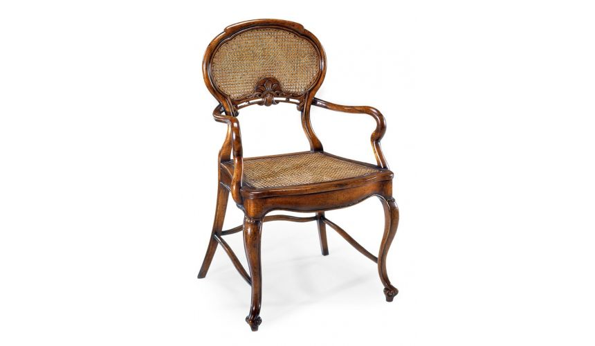 high end dining room furniture arm chair with caned seat high end dining side chair dining room furniture