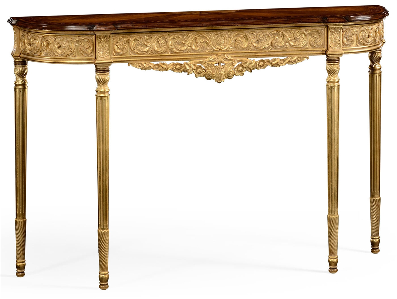 Louis Iv Style Narrow Console Table