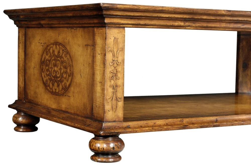 High End Furniture Rectangular Coffee Table Bernadette Livingston Furniture Provides The Finest