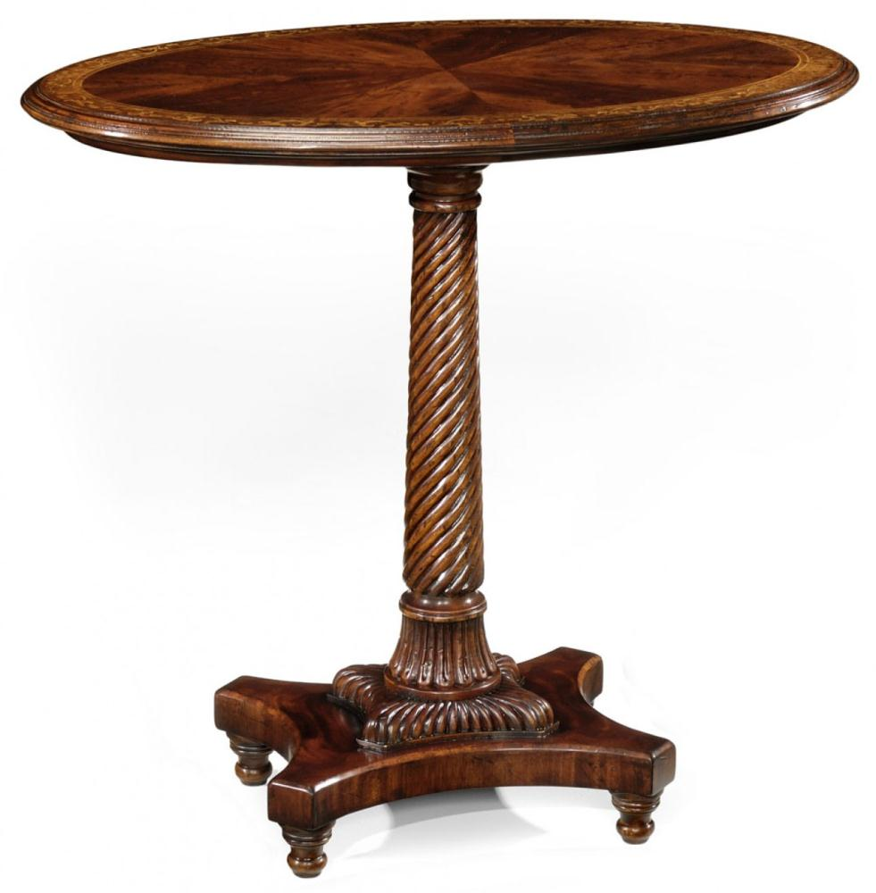 High Quality Furniture Oval Lamp Table Bernadette