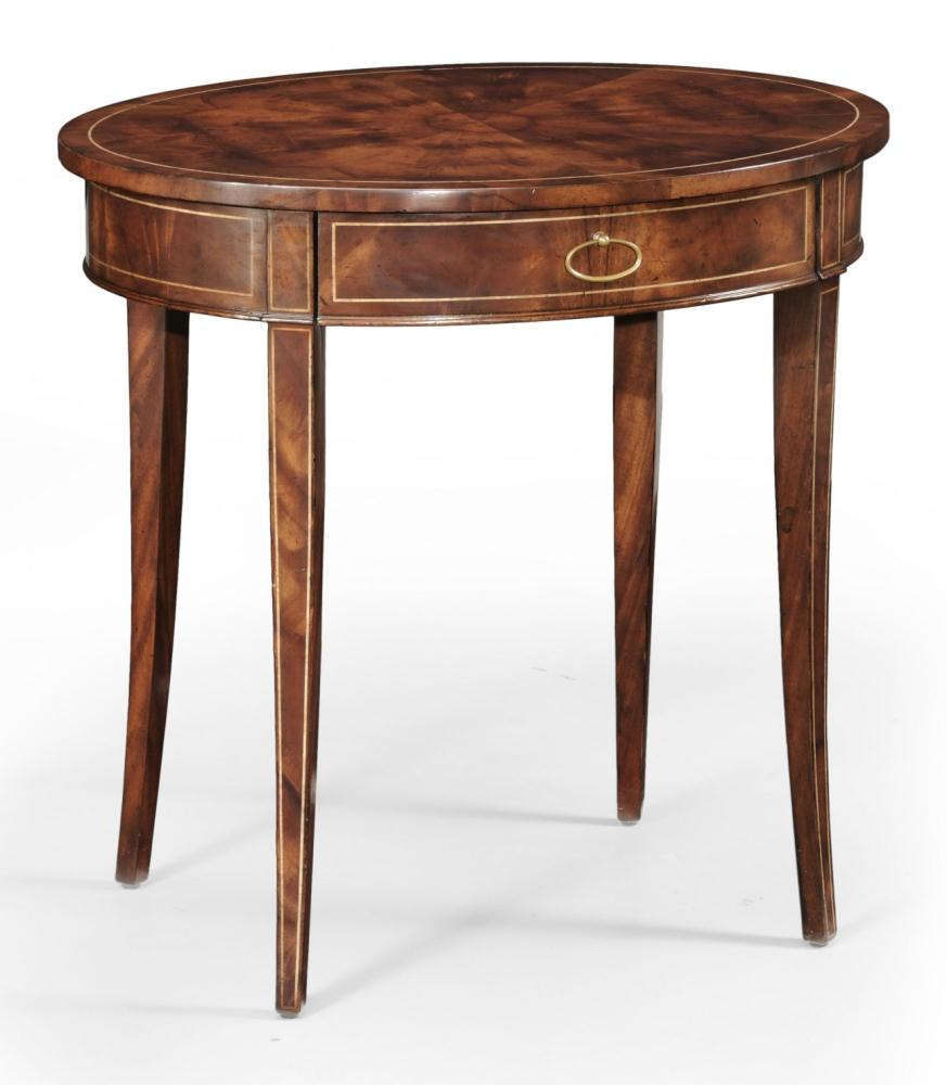 High quality furniture oval side table bernadette for Quality furniture