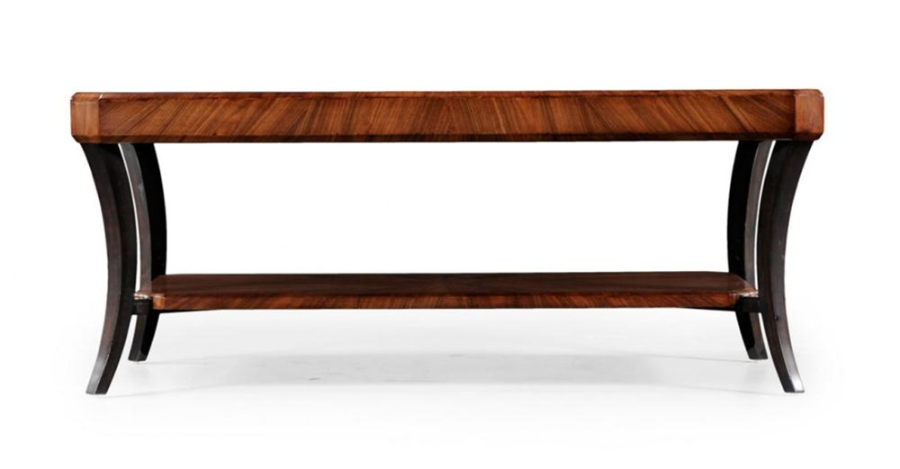High end furniture rectangular coffee table for High end table