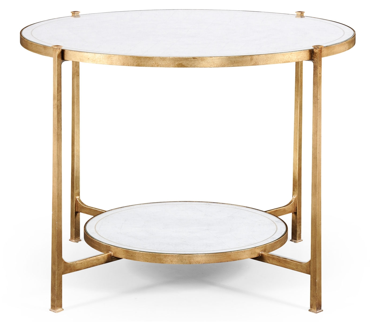 Buy Circular Center Table Glass Top Coffee Tables
