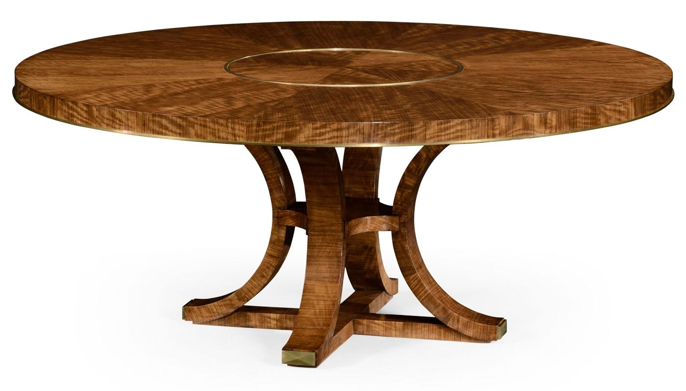 Circular Dining Table With In Built Lazy Susan