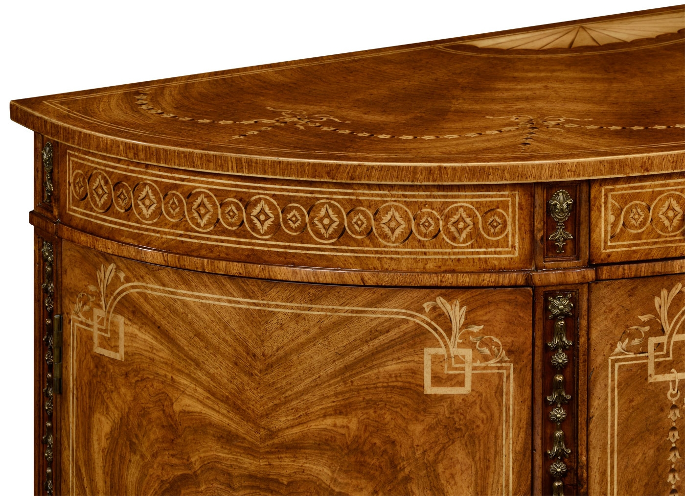 18th century bow fronted commode for 18th century window treatments