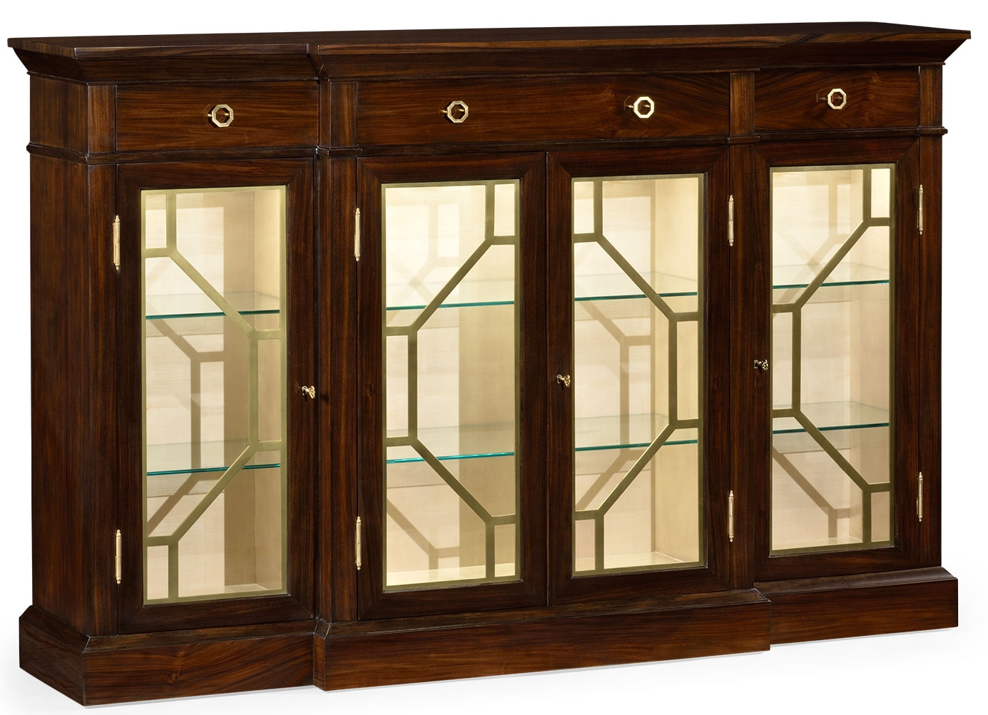 4 Door Display Cabinet
