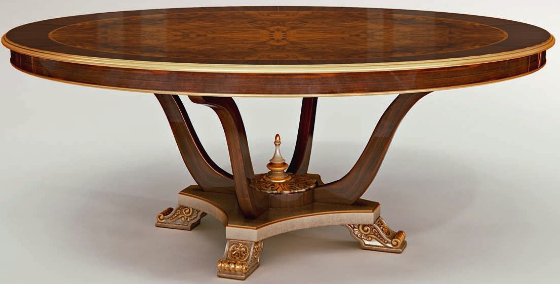 By Room DINING ROOM FURNITURE Round Dining Table Pedestal Base