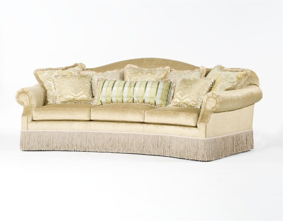 Classy sassy luxury sofa curved couch for Couch furniture