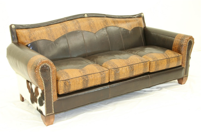 cowboy perfection furniture sofa western style
