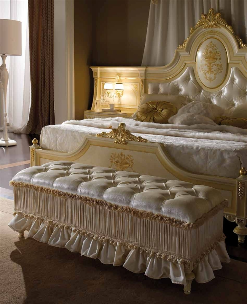 Elegant Master Bedroom With Drapery