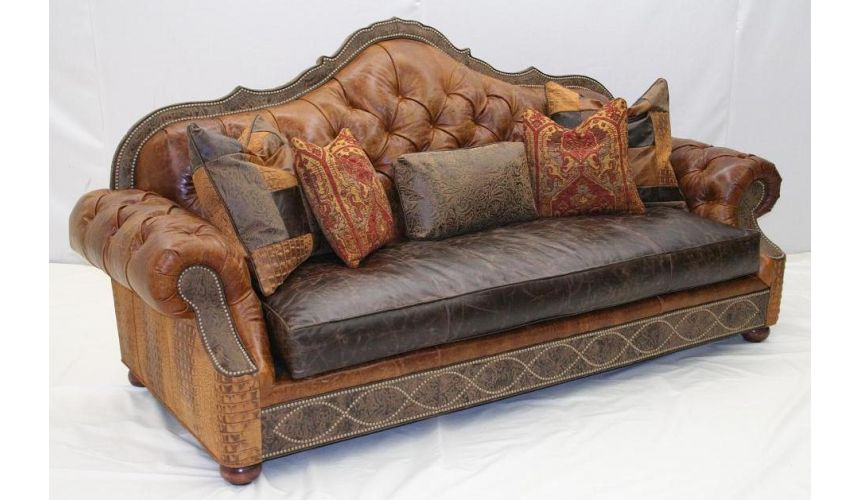 Upholstered Furniture Best Sofa In The World Leather Tufted Sofa