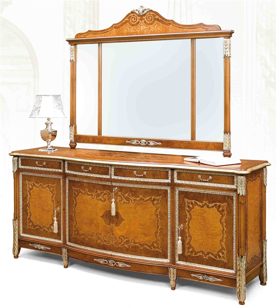 Luxury Dining Furniture Exquisite Marquetry Work Custom Home Furnishing Product Store Online