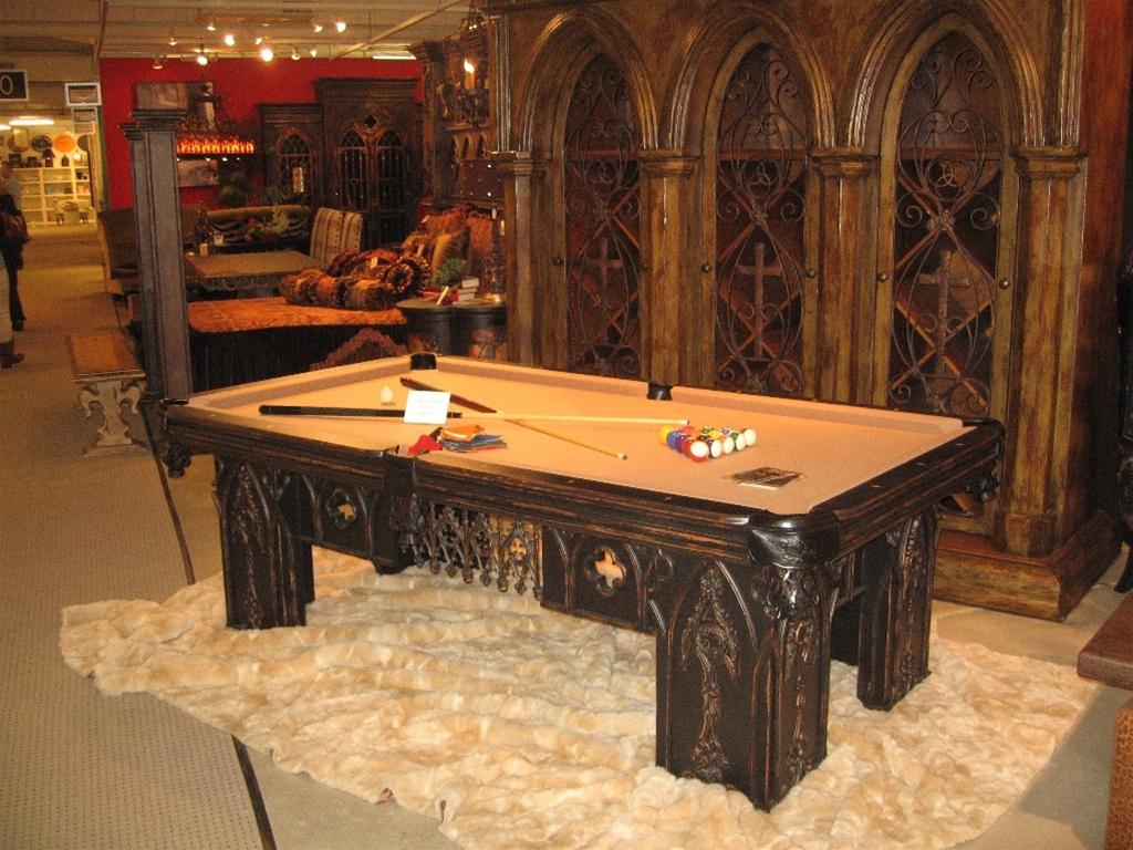 Luxury pool table billiard table custom made for Expensive pool tables