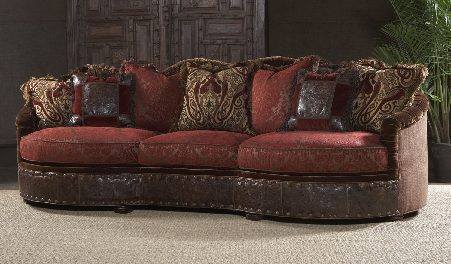 Luxury red burgundy sofa or couch for Furniture sofas and couches