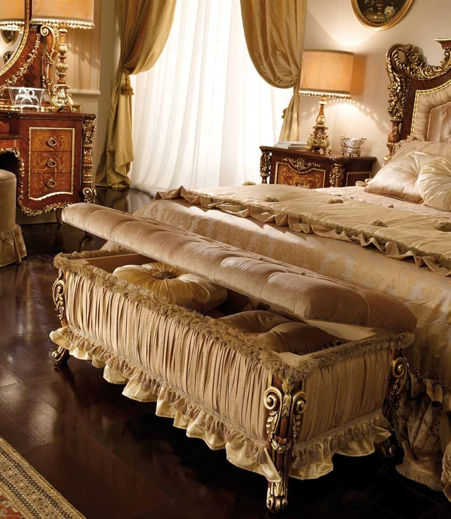 Exceptional Master Bedroom Set With A Tufted Headboard
