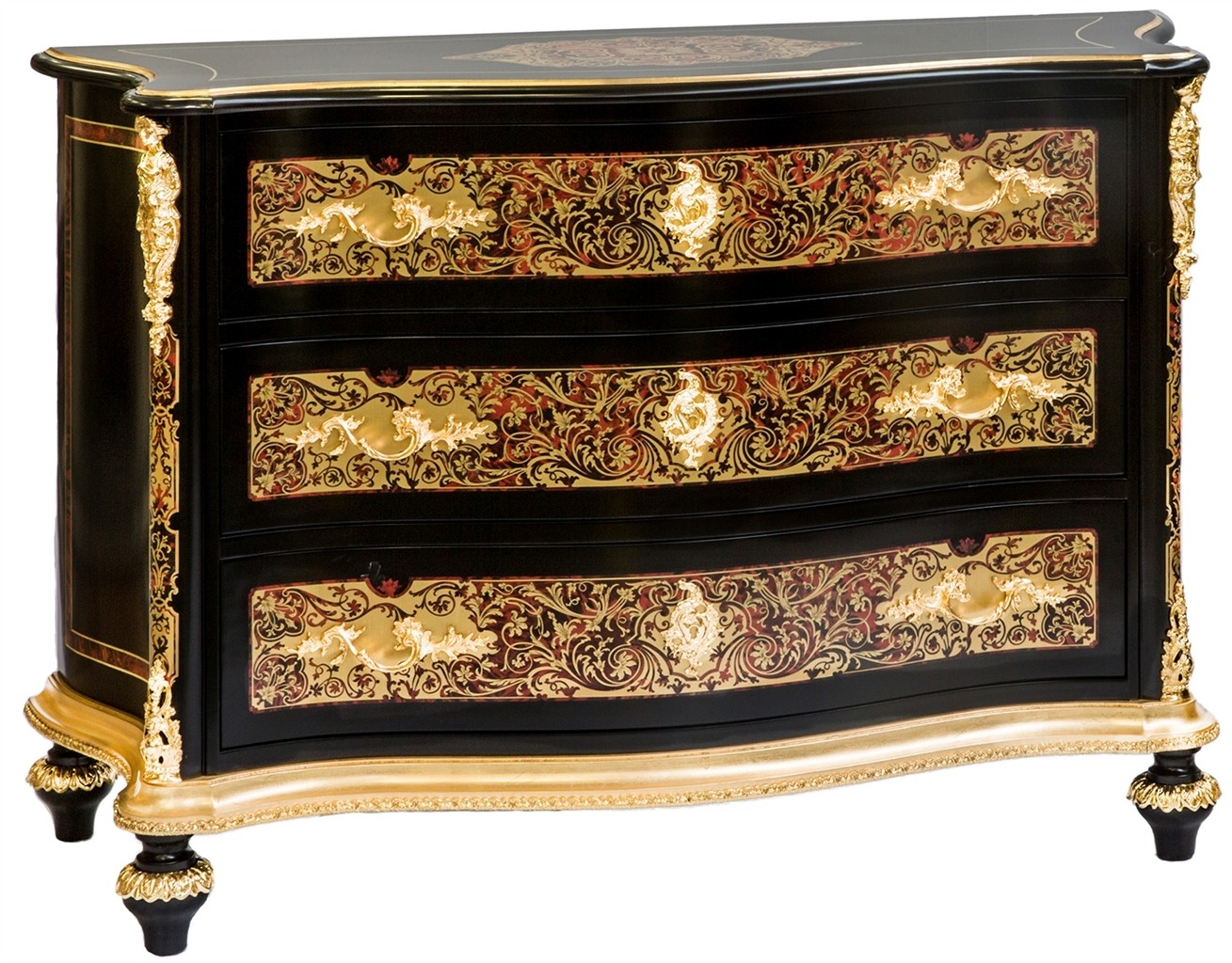 Boulle chest of drawers