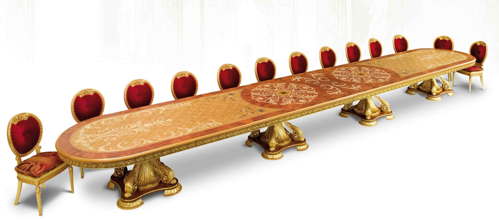 Luxury Custom banquet dining table