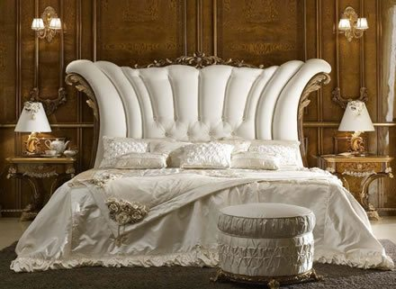 Luxury beds and high end bedroom furniture
