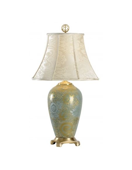 Aqua Golden Kutani Lamp