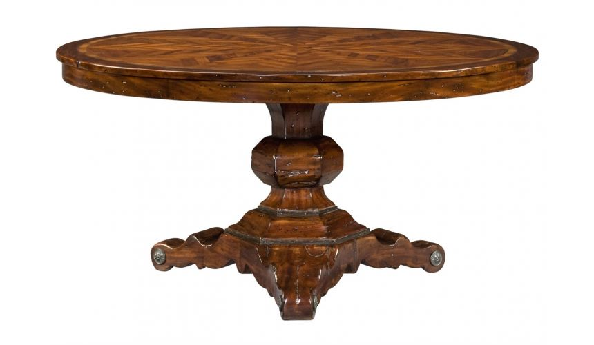 Dining Tables Round dining table Italian reproduction furniture