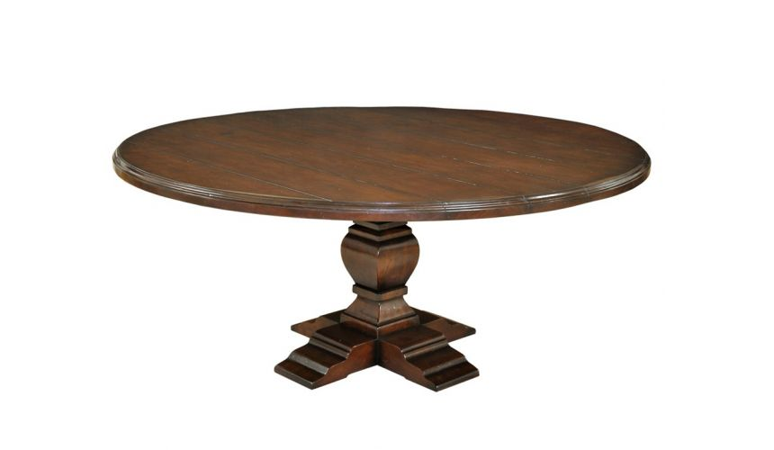 Dining Tables Round Pedestal Dining Table