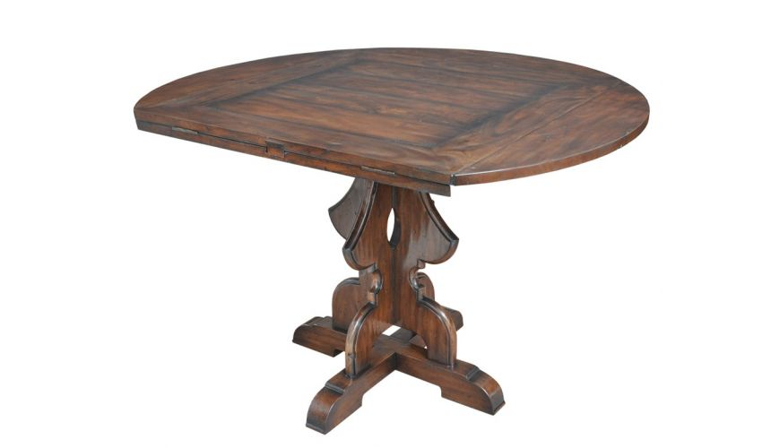 Dining Tables Round to Square Multi Purpose Table