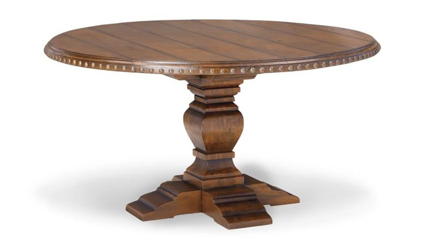 Dining Tables Round Walnut Dining Table