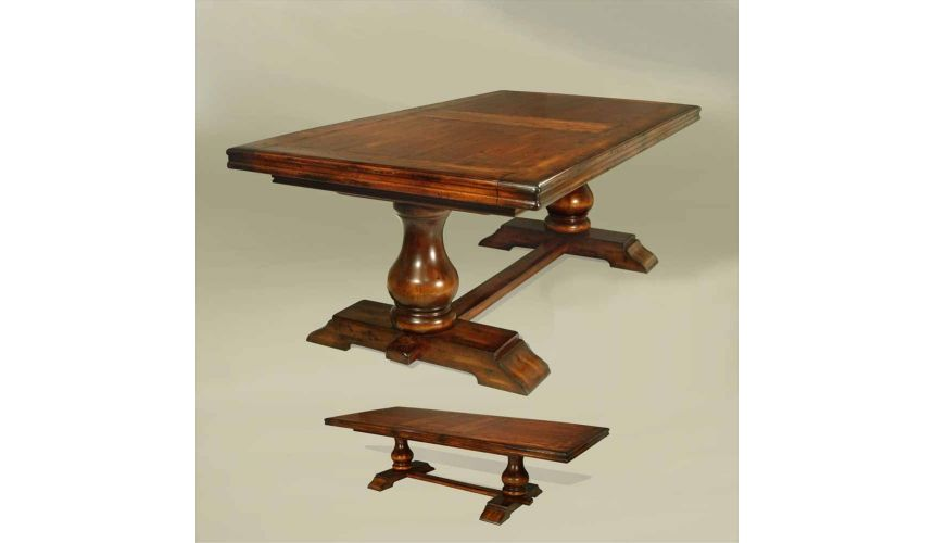 Square & Rectangular Side Tables Rustic Luxury Furniture Dining Table