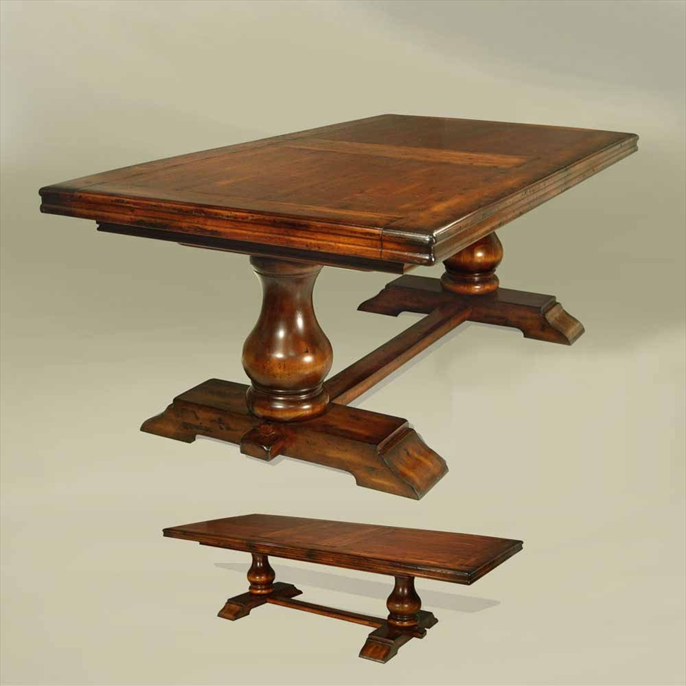 Rustic luxury furniture dining table for Expensive dining tables