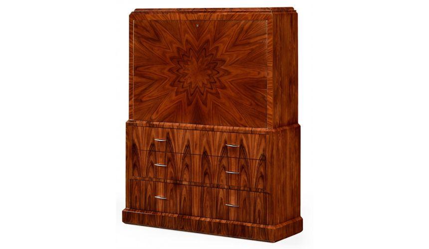 Bookcases Decorative Santos Rosewood Cabinet Doors-38