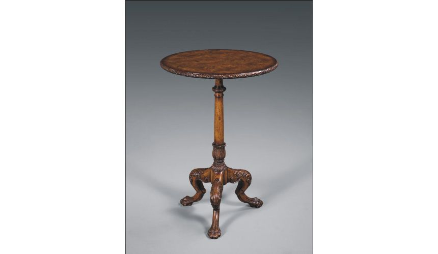 Round & Oval Side Tables Luxury Furniture Regency Occasional Table
