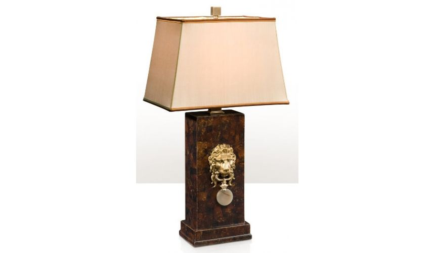 Table Lamps Stern Expressions