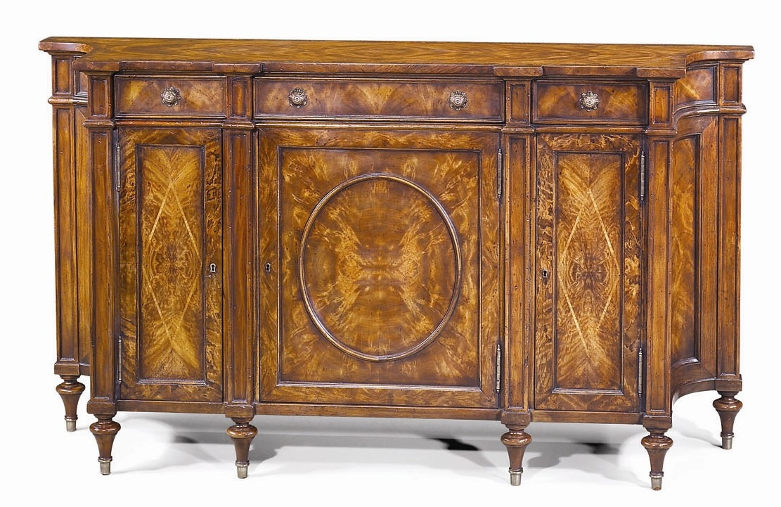 High End Dining Room Furniture Mahogany And Burl Mahogany
