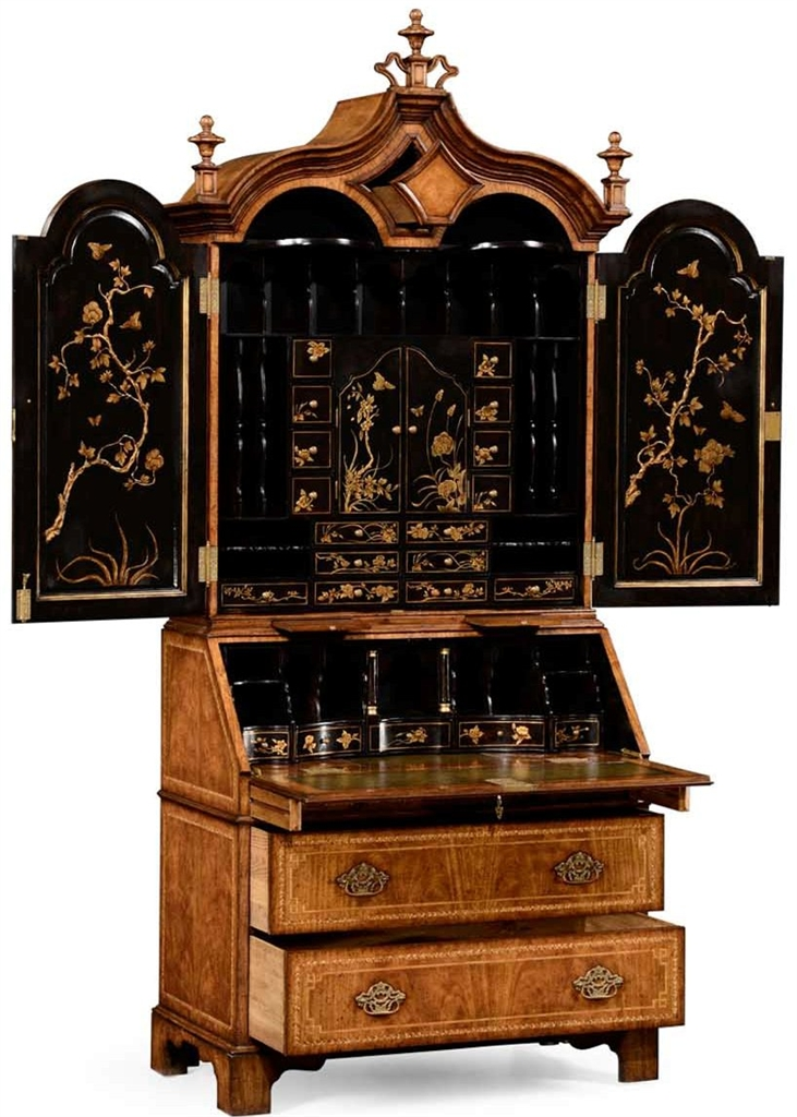 Secretary Chinoiserie High End Furniture - Antique Chinoiserie Furniture Antique Furniture