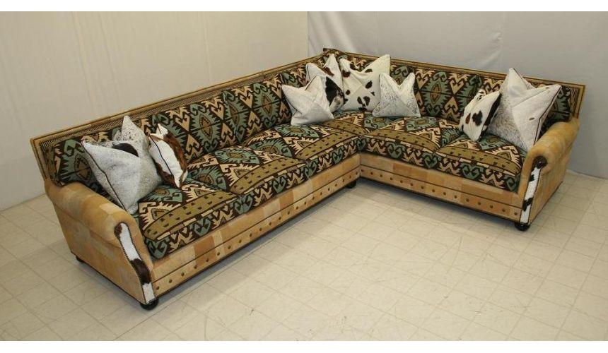 Sectional Sofa 9832