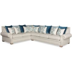 Eclectic style large sectional sofa 9886