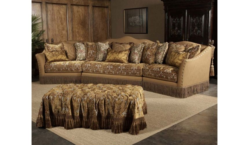 Luxury Leather & Upholstered Furniture Luxury sofa, chair, leather, fabric, sectional.