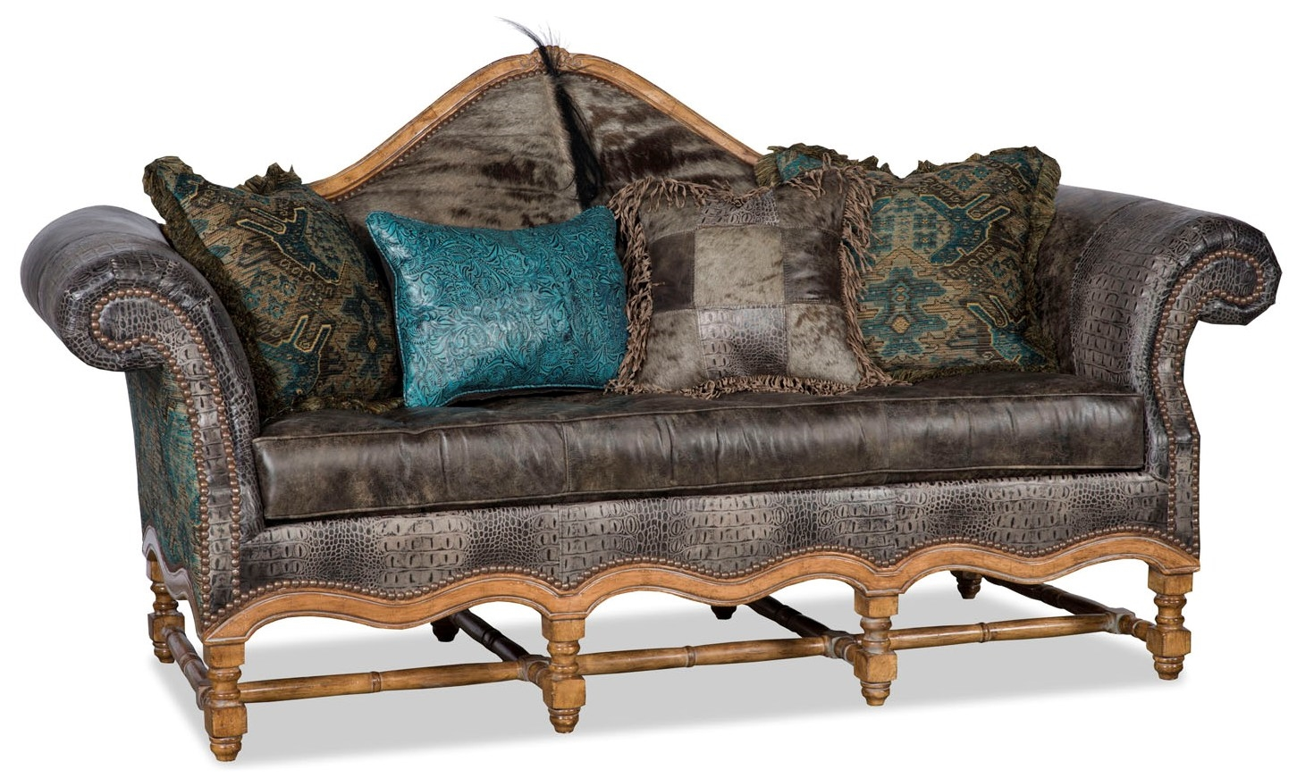 Leather Furniture Traveler Collection: Serengeti Sofa From Our High Plains Drifter Collection