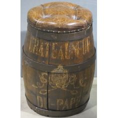 Barrel Stool.