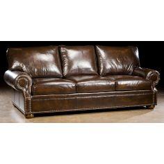 Simple leather sofa. 90