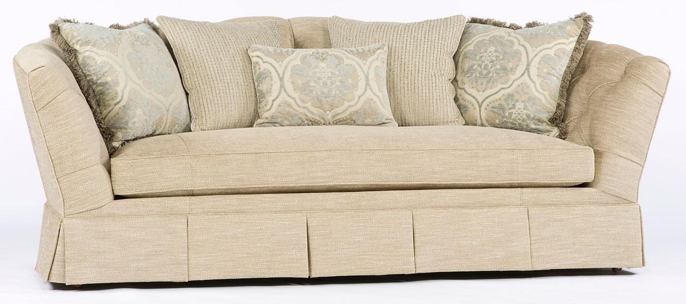 Tufted Button Back Single Cushion Sofa Luxury Furniture