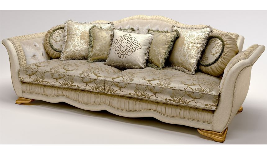 SOFA, COUCH & LOVESEAT Furniture Masterpiece Collection, sleek and stylish sofa.