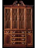 Small china cabinet. American made furniture and furnishings.