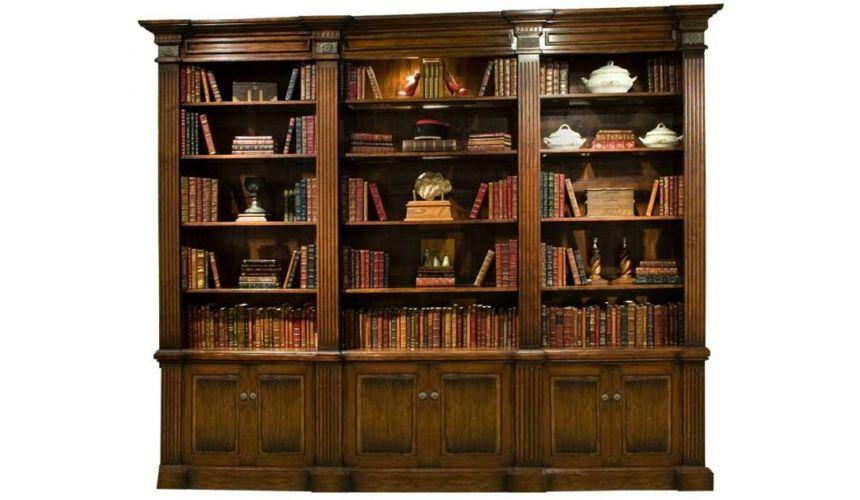 Bookcases Solid Walnut Libray Bookcase