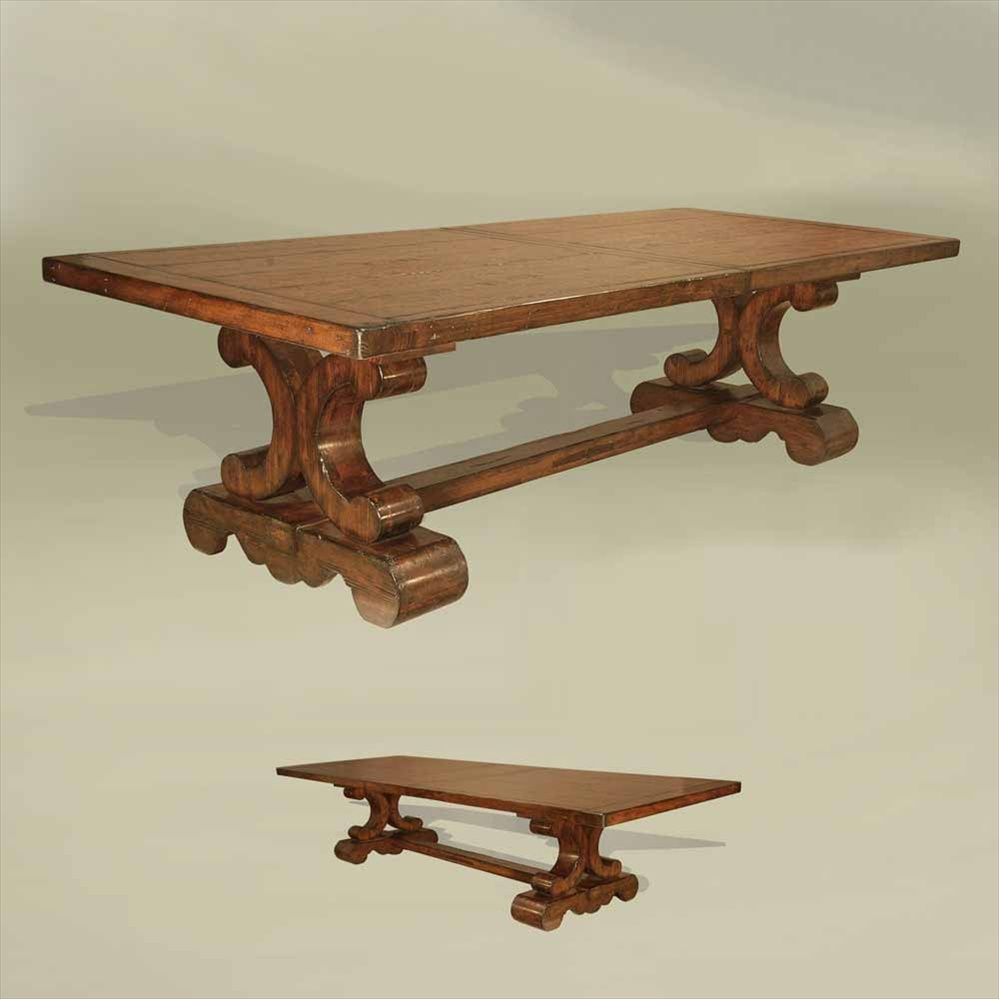 rustic southwest style furniture dining table