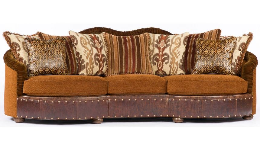 11 Southwestern style large family room sofa or couch.