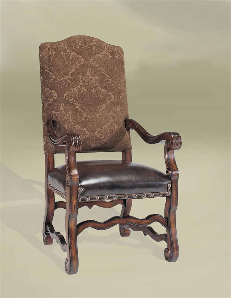 Rustic Luxury Spanish Style Furniture Arm Chair